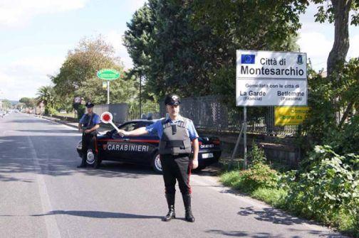 Fine settimana, vasta operazione dei Carabinieri della compagnia di Montesarchio: due persone arrestate