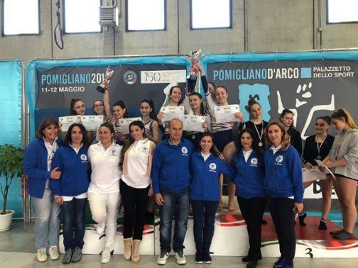 Ginnastica, Benevento vince i Campionati Studenteschi femminili con il Liceo Rummo
