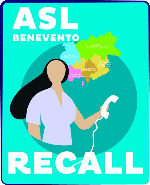 L'Asl Benevento attiva il Servizio Recall