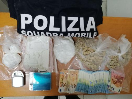 Benevento e Apollosa: centrale dello spaccio smantellata dalla Polizia