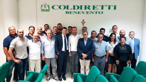 Coldiretti Benevento, nuovo direttore è Gerardo dell'Orto