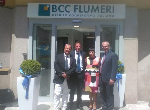 Benevento, inaugurata stamani la nuova filiale della BCC Flumeri