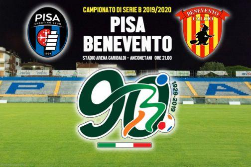 Ore 21.00: si parte! Con Pisa-Benevento si alza il sipario sul Campionato di serie B 2019/2020