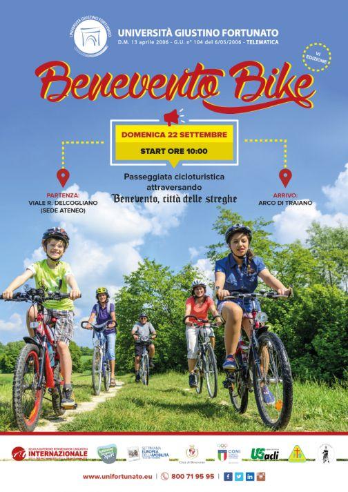Unifortunato, ritorna Benevento Bike: VI edizione