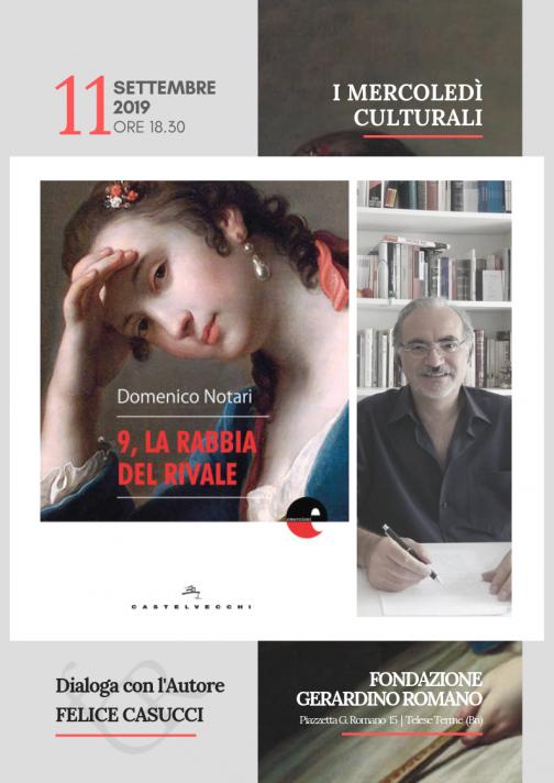 Fondazione Romano, conversazione con Domenico Notari