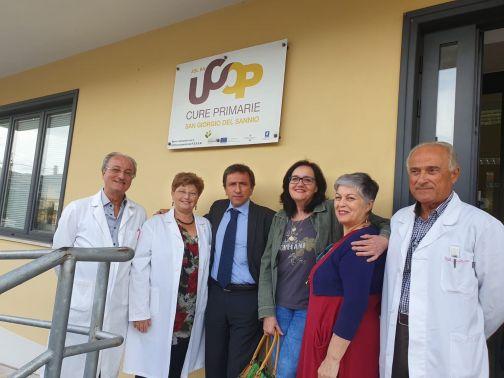 Il Direttore dell'Asl, Gennaro Volpe, visita il Distretto di San Giorgio del Sannio
