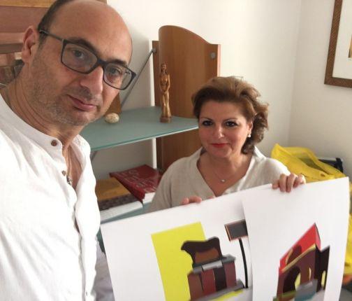 """Xarte, Caso Panza: 'Donate opere raffiguranti monumenti di Benevento 'imagine visiting"""""""