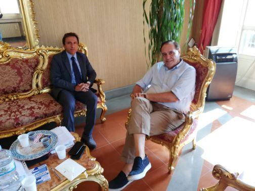 Mastella ha ricevuto  il nuovo dirigente Generale dell'Asl Gennaro Volpe