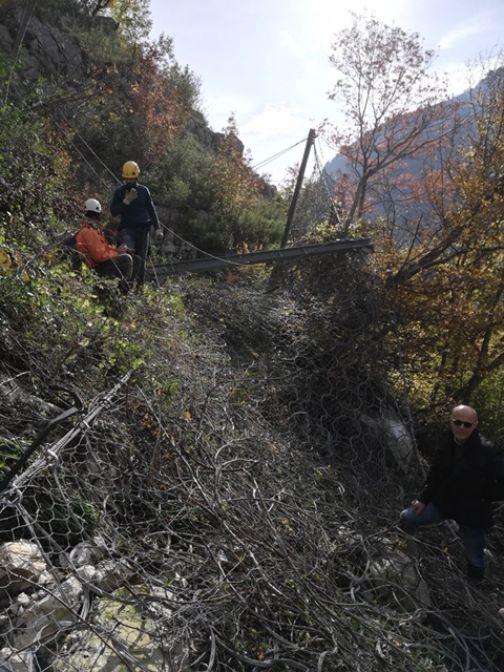 Strada Mutria collegante Cerreto – Cusano – Pietraroja chiusa al traffico.