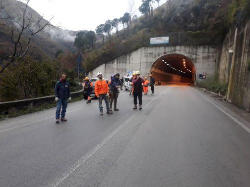 Strada provinciale Cerreto-Cusano-Pietraroja: al via i lavori di contenimento