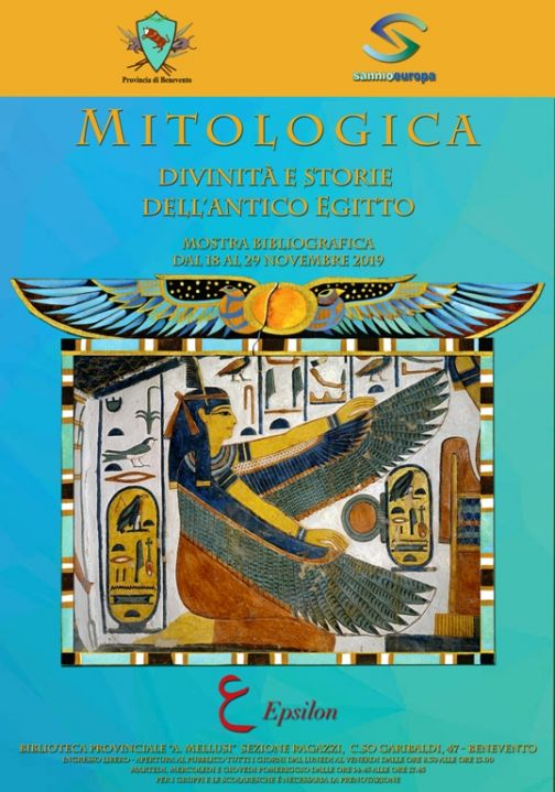 Biblioteca Provinciale, prorogata mostra Mitologica sull'antico Egitto