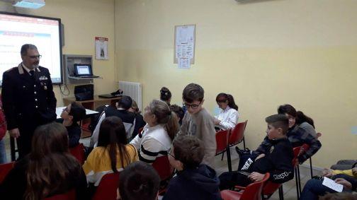 Telese, Cultura Legalita: l'Arma incontra gli studenti dell'Istituto D'Azeglio