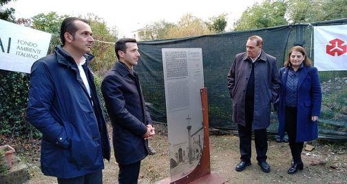 Triggio, inaugurato totem informativo sulla storia dell'Abbazia di San Lupo