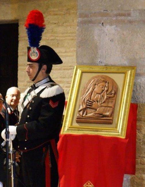 """Celebrazioni in onore della """"Virgo Fidelis"""", Patrona dell'Arma dei Carabinieri"""
