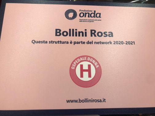 """Al """"San Pio"""" di Benevento Bollino Rosa per il biennio 2010-2021"""