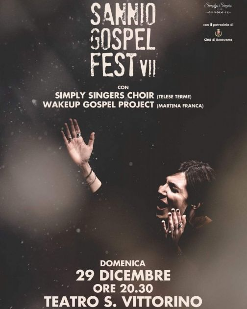 Sannio Gospel Fest, al teatro San Vittorino il 29 dicembre