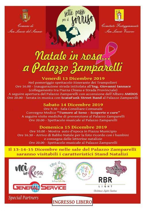 San Leucio del Sannio, 'Natale in Rosa': la presentazione