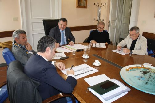 Incontro presidente Di Maria e consiglieri provinciali