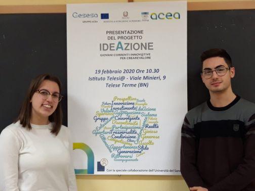 """Gesesa, presentata all'istituto Telesi@ il progetto """"Ideazione 2020″"""
