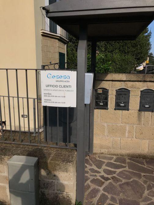 Gesesa, Sant'Agata: nuovo giorno di apertura per lo Sportello Utenti.