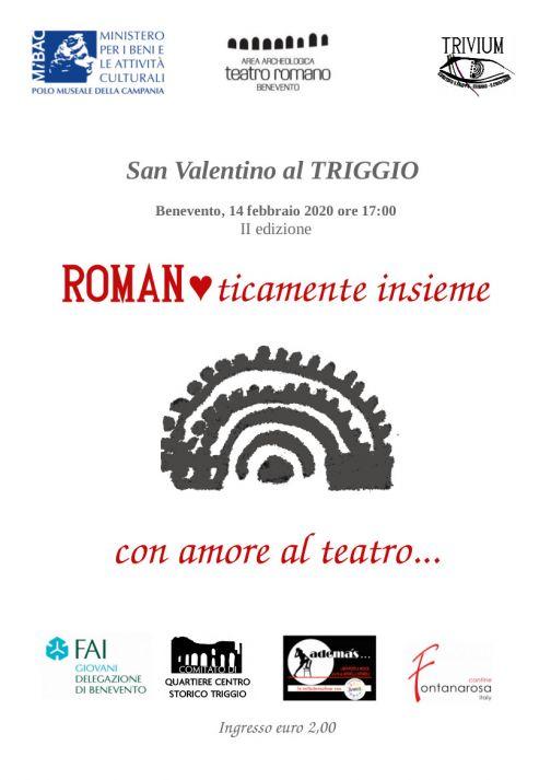 'Romanticamente insieme' al Teatro Romano