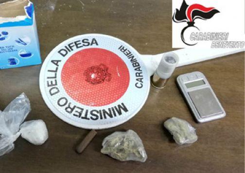Benevento, arresto per droga dei Carabinieri