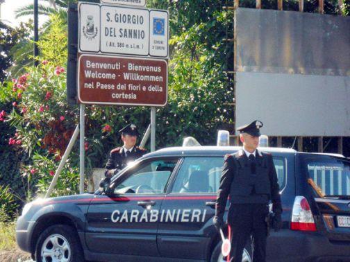 San Giorgio del Sannio, ennesima lite violenta tra coniugi: arrestato il marito