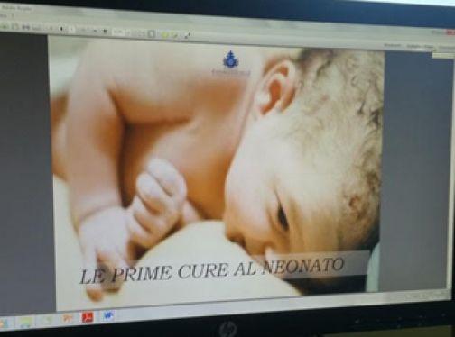 Fatebenefratelli, buona la prima per il Corso di preparazione al parto oline