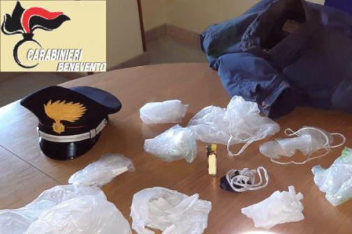 Cerreto Sannita, denunciato dai Carabinieri il presunto autore di un incendio boschivo
