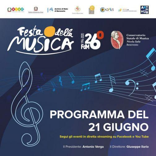 Festa della Musica 2020, oggi la terza giornata: boom di visualizzazioni per le prime due tappe!