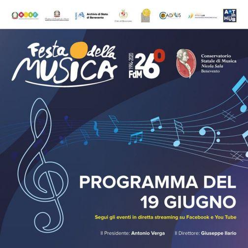 Conservatorio, al via la Festa della Musica: 19-20-21 giugno al San Vittorino