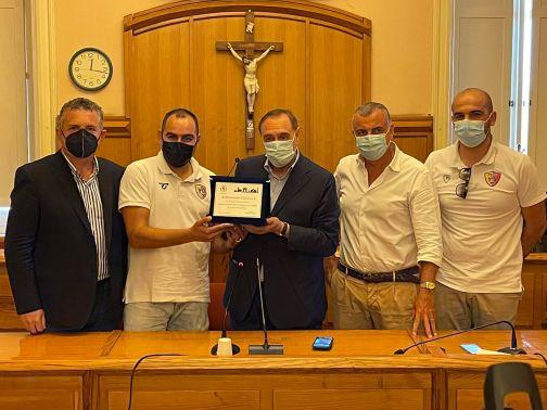 Benevento 5: squadra premiata dal sindaco Mastella
