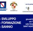 +Sviluppo, +Formazione, +Sannio: convegno giovedì 22 marzo a Sant'Agata dei Goti