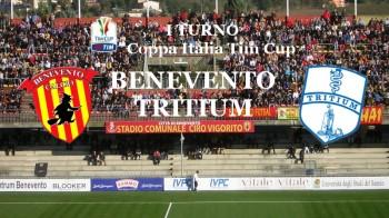 tim cup Benevento - Tritium