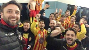 il-selfie-vittoria-dei-sanniti-five-soccer